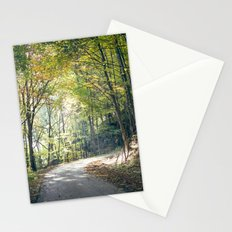 rays of light Stationery Cards