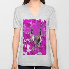 Elephant #66 Unisex V-Neck