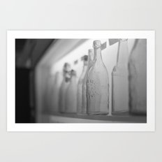 Longneck Bottle Art Print
