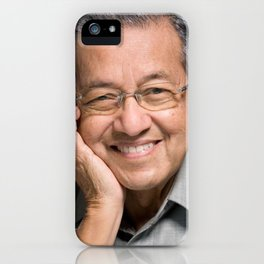 Dr Mahathir Mohamad iPhone Case