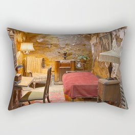Al Capone's Luxurious Prison Cell Rectangular Pillow