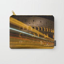 Zooming past the Colosseum Carry-All Pouch