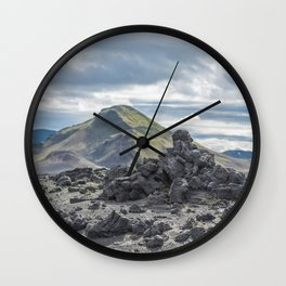 Good versus Evil Wall Clock
