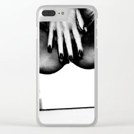 five fingers of Mary Clear iPhone Case