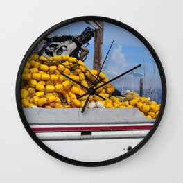 Fishing Nets - 1 Wall Clock