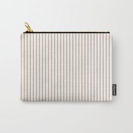 Hazelnut Stripes Carry-All Pouch