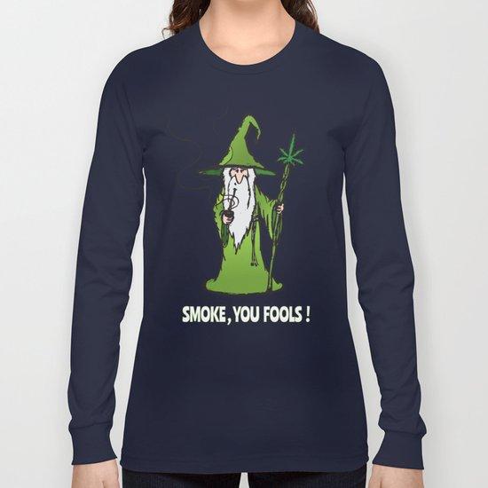 Ganjalf The Green Long Sleeve T-shirt