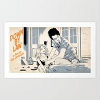 Down By Law Art Print