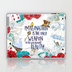 Alice in Wonderland - Imagination Laptop & iPad Skin