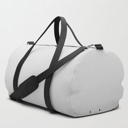 Surfers - Black and White Ocean Photography Huntington Beach California Duffle Bag