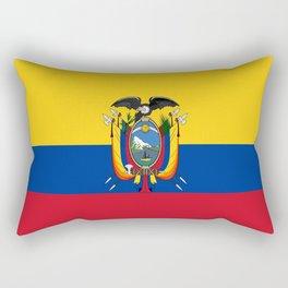 Flag of Ecuador -ecuadorian,Inca,Kichwa,Quito,america, South america,Spanish,Amazonia,latin america Rectangular Pillow