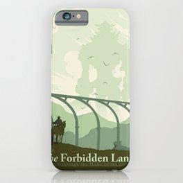 Visit The Forbidden Land iPhone Case