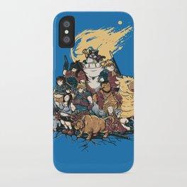 FF7 - FULL FAT 7 iPhone Case