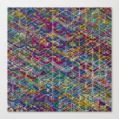 Cuben Network 1 Canvas Print