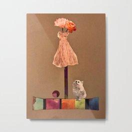 Fashion cat Metal Print