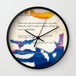 GUATAMA BUDDHA Wall Clock