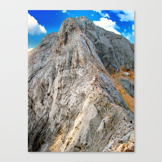 The way to go Canvas Print