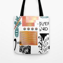 I love tits (overandover) Tote Bag