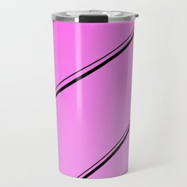 Pink Pop Art Fun Light Bulbs - Sharon Cummings Travel Mug