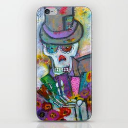 Shadow Man iPhone Skin