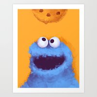cookies Art Prints featuring Cookies  by Lime