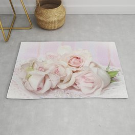 A Promised Rose Garden Rug