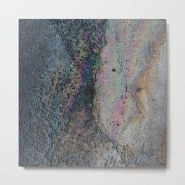 sidewalk rainbow Metal Print