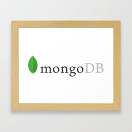 Mongo Db (Mongodb) Framed Art Print