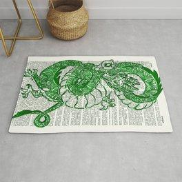 The Jade Dragon (Green Lantern: Kyle Rayner) Rug