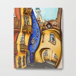 Ulice Dawna (Dawna Street) Metal Print