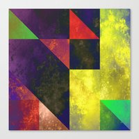 be happy Canvas Prints featuring Happy by SensualPatterns
