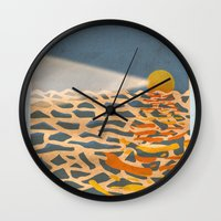 lighthouse Wall Clocks featuring lighthouse by gazonula