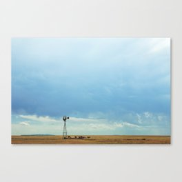 New Mexico - Waiting For The Rain Canvas Print