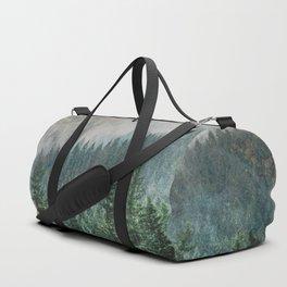 Foggy Forest Wanderlust Adventure - PNW Photography Duffle Bag