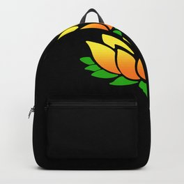 Yellow Lotus Backpack