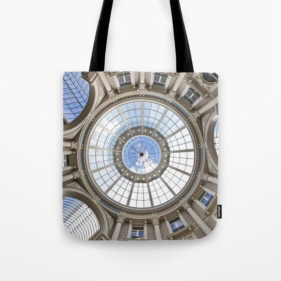 Blue Eye of Glass Tote Bag