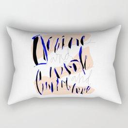 Divine & Whole & Full of Love Rectangular Pillow