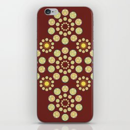 Zenyatta Orb inspired pattern iPhone Skin