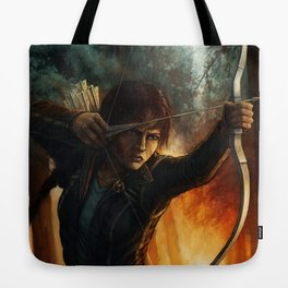 Katniss Everdeen Tote Bag