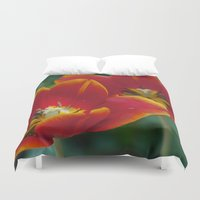 twins Duvet Covers featuring Twins by Will D'angelo
