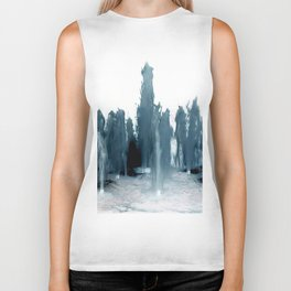 Negative Water Fountain Biker Tank