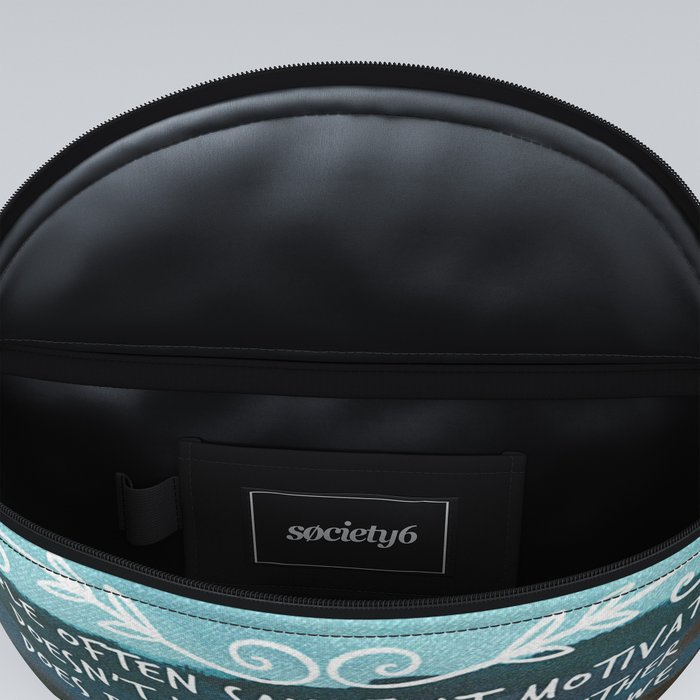 People often say that motivation doesn't last. Well, neither does bathing. Fanny Pack