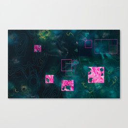 Journey of the Rebel, the Outcast, and the Ubermensch Canvas Print