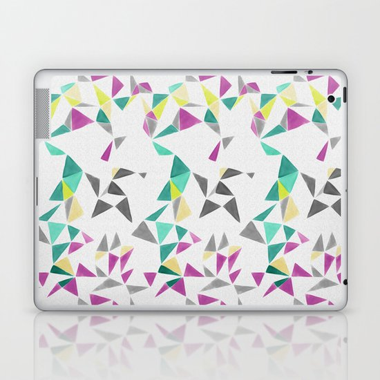 watercolor geometry  Laptop & iPad Skin