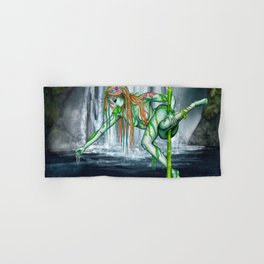 Pole Creatures - Water Nymph Hand & Bath Towel