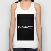 mac Tank Tops featuring MAC by I Love Decor