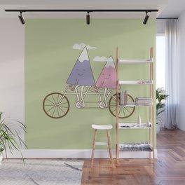 mountain biking Wall Mural