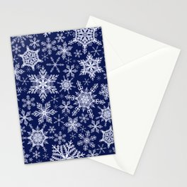 Magic Winter Snowflakes Stationery Cards