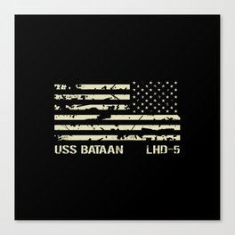 USS Bataan Canvas Print