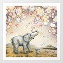 Elephant Bubble Dream by rutadumalakaite